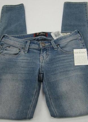Оригинальные джинсы guess/low rise jegging maxine fit