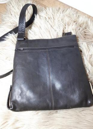 Мужская кожаная сумка maddison3 фото