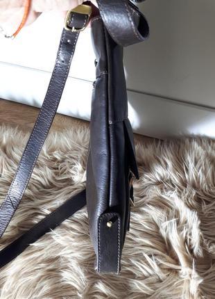 Мужская кожаная сумка maddison7 фото