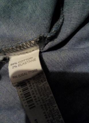 Котоновая брендовая рубашка6