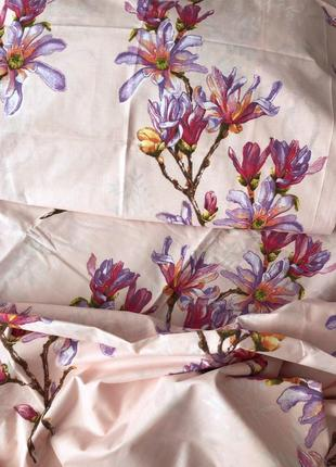 Нежное постельное белье цветочный принт