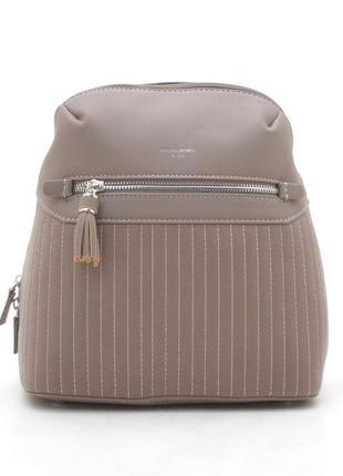 Рюкзак david jones 5823-1t пудровый-розовый