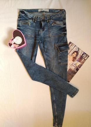 Джинсы варенки с карманами/спортивные штаны джинсы