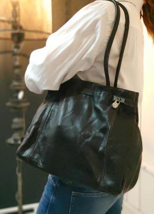 L.credi 100% оригинальная немецкая кожаная сумка.5