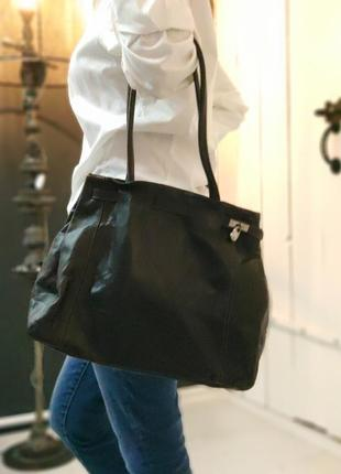 L.credi 100% оригинальная немецкая кожаная сумка.
