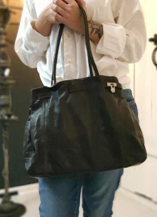 L.credi 100% оригинальная немецкая кожаная сумка.6
