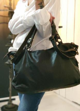 Aitems 100% оригинальная датская большая кожаная сумка.