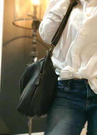 Aitems 100% оригинальная датская большая кожаная сумка.9