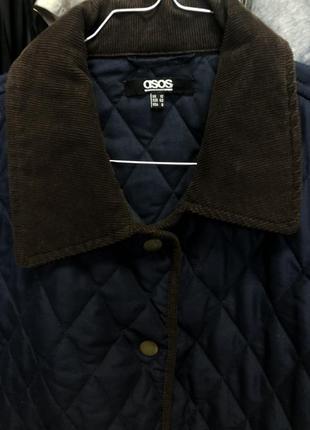Asos стеганая куртка на синтепоне легкая