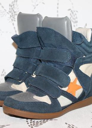 Isabel marant кожаные сникерсы 37 размер