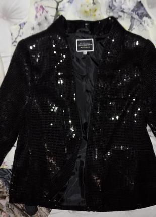 Клубный пиджак в паетках👑