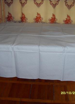 Комплект скатертей на большой стол из трех штук,  хлопок.