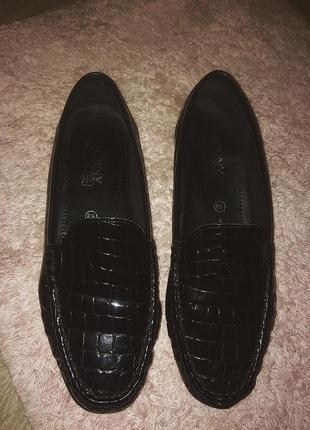 Ботинки демисезонные лоферы