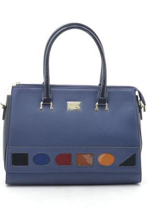Новая синяя женская повседневная сумка