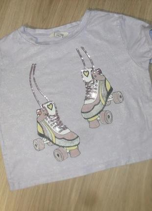 Топ футболка на 7-8лет