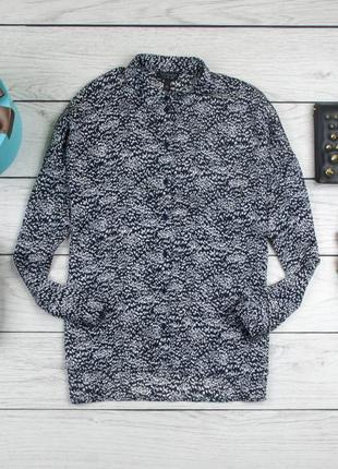 Блуза шелковая от topshop рр 10 наш 44