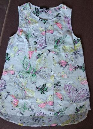 Oasis летняя легкая блузка блуза