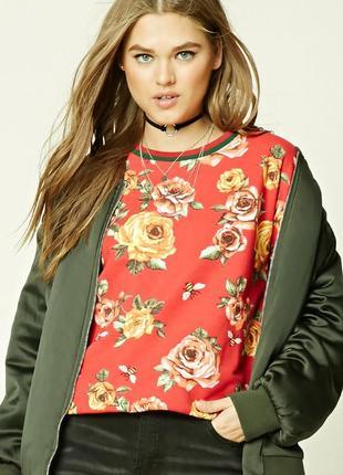 Forever 21.товар из англии.эффектный свитшот в модном дизайне. есть размеры.