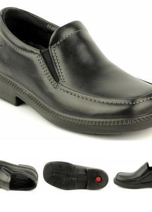 Натуральная кожа туфли ecco оригинал p.27-распродажа3