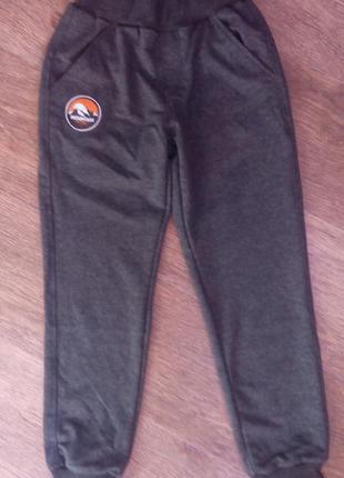 Спортивные штаны бемби трикотаж без начеса