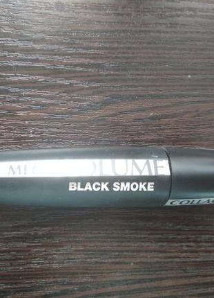 Тушь mega volume black smoke