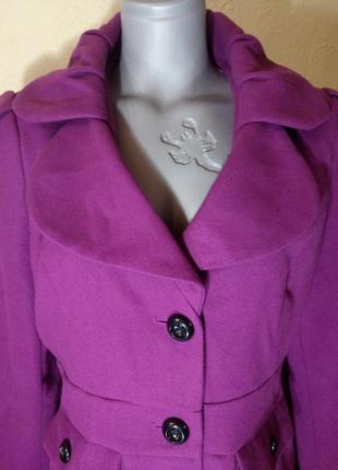 Цена снижена временно!красивое пальто-деми,батал,большая скидка3 фото