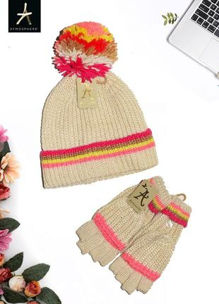 Комплект шапки и перчаток accessorize