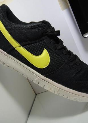 Nike легкие оригинальные кроссовки р.43- 44 (28 см) кожа+текстиль