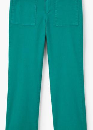 Укороченные брюки mango р.42