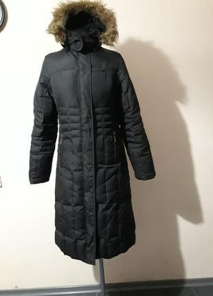 Пуховик, пуховое пальто trespass, xs-s, ткань водоотталкивающая