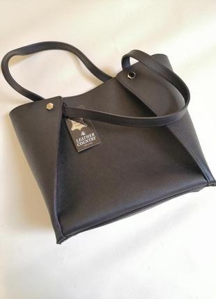 Крутая кожаная сумка италия