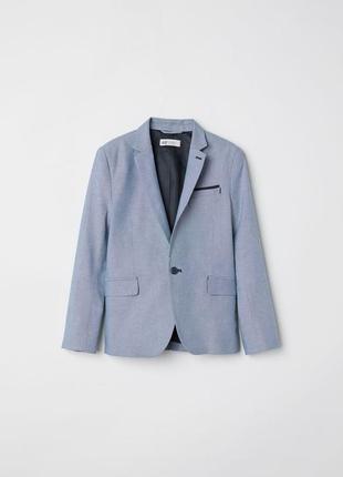 Пиджак на одной пуговице h&m р.146, 152, 158