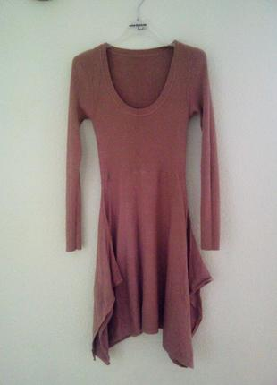 Модное платье-туника 2102