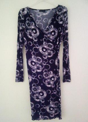 Офисное итальянское платье 2103