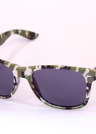 Очки. 9905. очки в стиле wayfarer. солнцезащитные очки