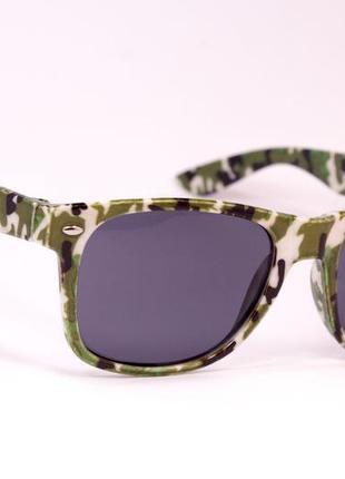 Очки. 9905. очки в стиле wayfarer. солнцезащитные очки3