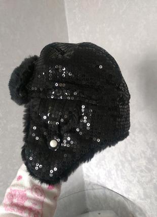 Шапка зимняя, шапка-ушанка