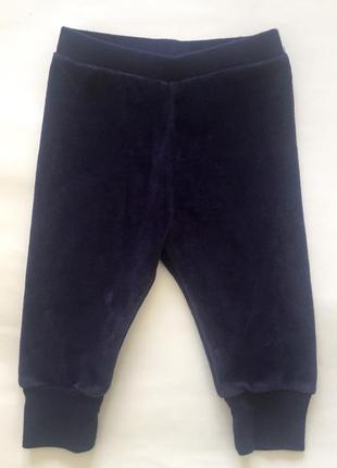 """Нарядные велюровые штанишки на год-полтора, """"baby gap"""", сша"""