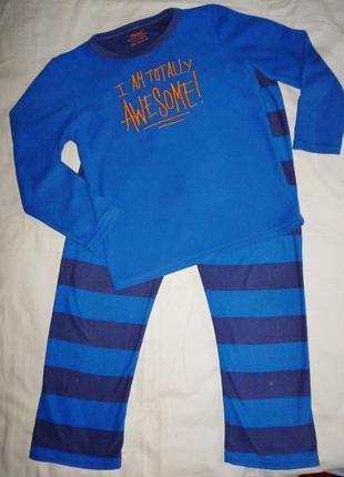 Флисовый костюм на 9-10 лет