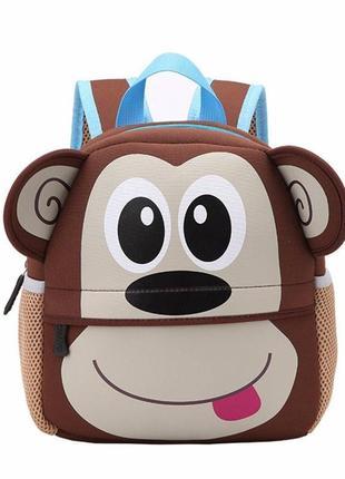 """Детский рюкзак """"обезьянка"""""""