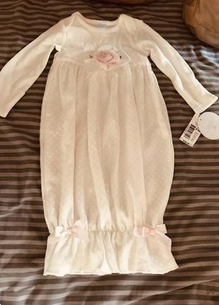 Платье кружевное нарядное на девочку новое