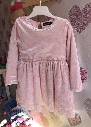 Платье, нарядное платье, бархатное платье, велюровое платье, фатиновое платье
