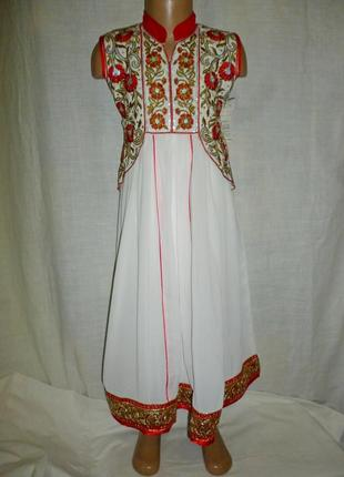 Восточное платье,оригинал 9-11 лет