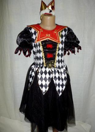 Платье королевы на 9-10 лет