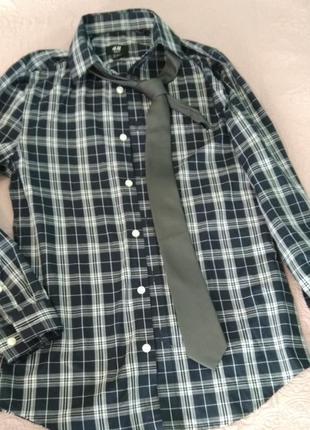Рубашка  slim fit