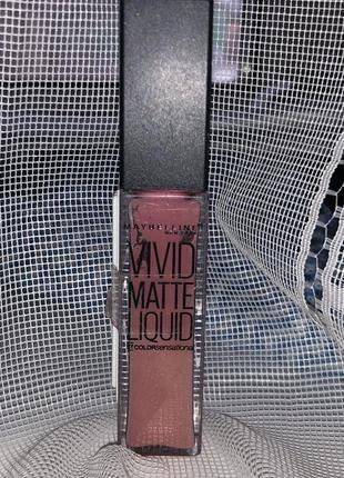 Много оттенков матовая помада для губ maybelline vivid matte liquid