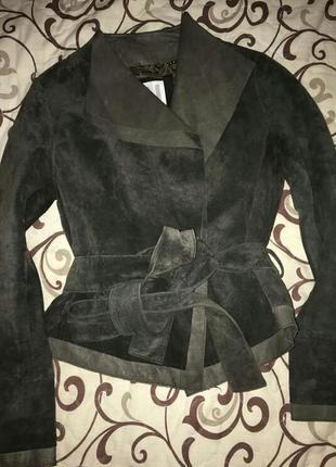 Замшевая куртка голландского бренда ya-ya