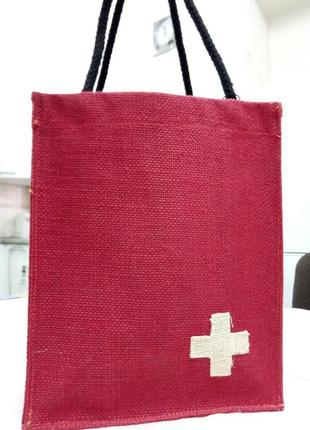 Эко сумочка - органайзер для подарка, косметики и т.д.