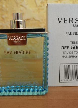 Versace man eau fraiche туалетная вода тестер 100 мл  италия оригинал