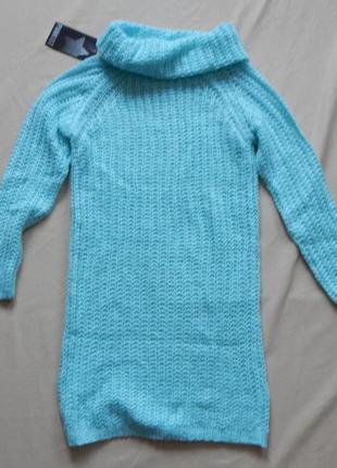 Детская вязанная туника платье punkidz 12р4 фото